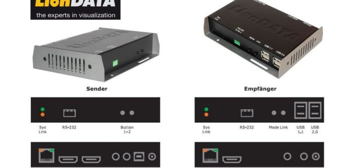 Digital Signage: Das LionDATA Audio-Videoverteilungs-System AVX-4K2K-HDMI-over IP im Kassenbereich einer internationalen Möbelhauskette