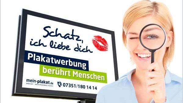 Optimale Plakatgestaltung