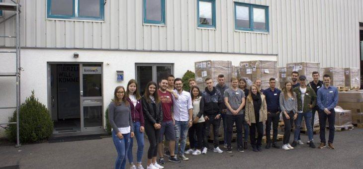 Bei Krannich Solar starten elf Auszubildende und Studenten