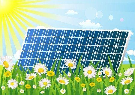 Sonne macht Strom