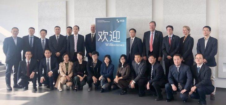 Weiterbildung an der Hochschule Bremen in China gefragt: Hochrangige Delegierte zu Besuch in Bremen
