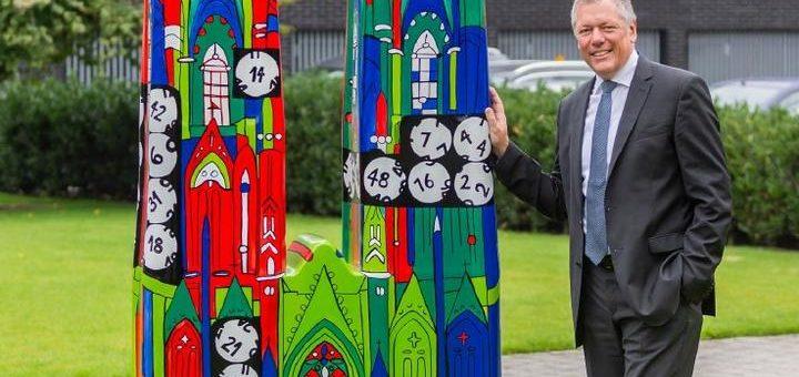 Der Kölner Dom präsentiert sich ab heute im Lotto-Design