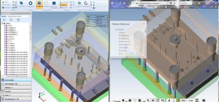 CAD-Daten webbasiert austauschen mit Glovius
