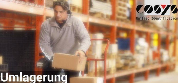Fehlerfreie Umlagerung im Warehouse