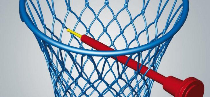 Volltreffer: Basketballkorb mit 5-Achs-Technologie gefräst