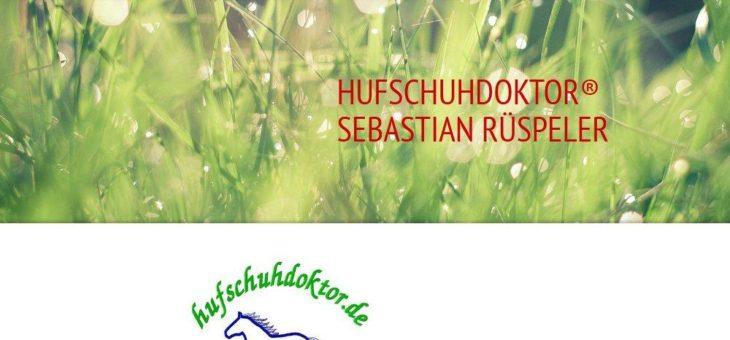 Der Hufschuhdoktor ist Sebastian Rüspeler