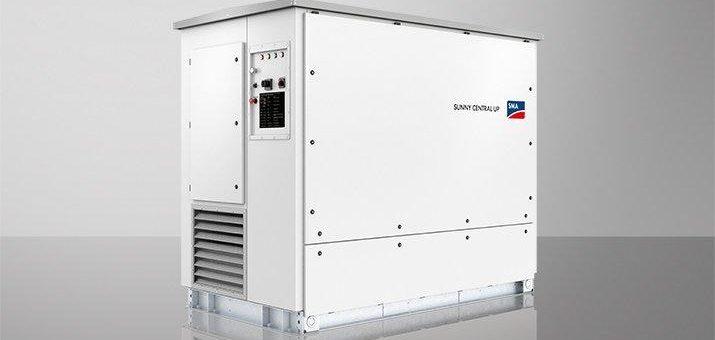 Sunny Central UP: SMA bringt weltweit leistungsstärksten Zentral-Wechselrichter auf den Markt