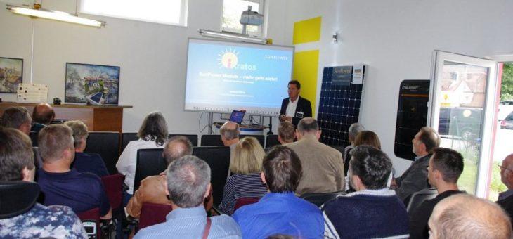 Hausmesse am 22. September – Solar Wärmepumpe E-Mobility – Mini -TESLA zu gewinnen