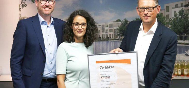 Immobilienbranche: Energiemanagement der BUWOG AG Berlin zertifiziert