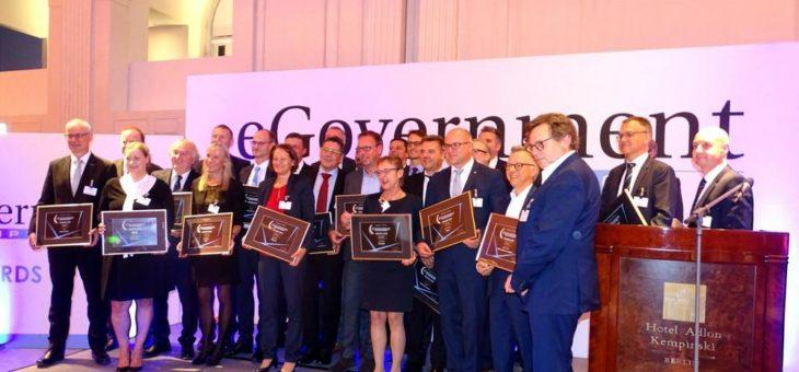 BWI mit eGovernment Award in Platin ausgezeichnet