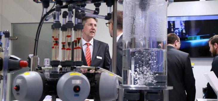 Pumps & Valves Dortmund ist 2019 einzige Fachmesse der Branche in Deutschland