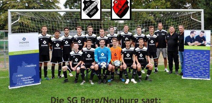 inovex sponsert SG Berg/Neuburg mit neuen Trikots