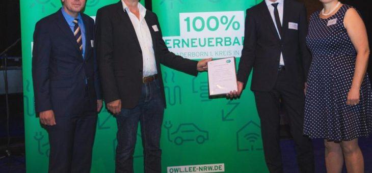 Mehr Forschung in Energiefragen – Windkraftbranche stiftet Juniorprofessur an Universität Paderborn