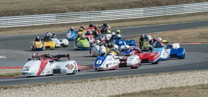 Finale der Seitenwagen Weltmeisterschaft in der Motorsport Arena