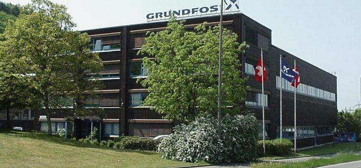 Grundfos Schweiz – seit 1978 in der Mitte Europas zu Hause