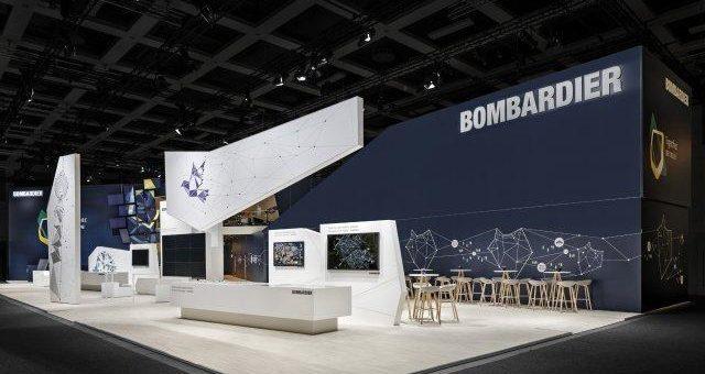 VOSS+FISCHER inszeniert Bombardier auf der InnoTrans