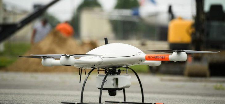 Microdrones gelingt mit der Markteinführung von mdLiDAR3000,  sowie zwei neuen mdMapper-Systemen ein Riesenerfolg