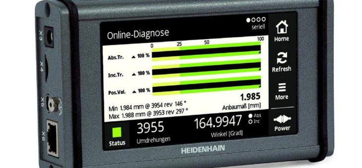 HEIDENHAIN Test- und Prüfgeräte – Zwei Geräte, viele Analysemöglichkeiten für die Praxis