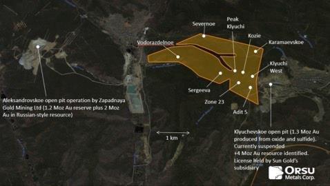 Orsu Metals stößt in Bohrungen und Gräben bei Adit 5 im Goldprojekt Sergeevskoe (Russland) auf zahlreiche Abschnitte mit Goldmineralisierung