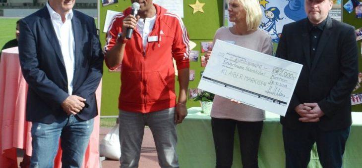 KLAIBER Markisen und Joey Kelly unterstützen stationäres Kinderhospiz