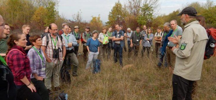 Großes Forschertreffen im Nationalpark Hainich