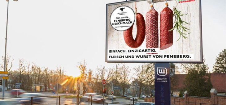 FENEmenale Plakatwerbung