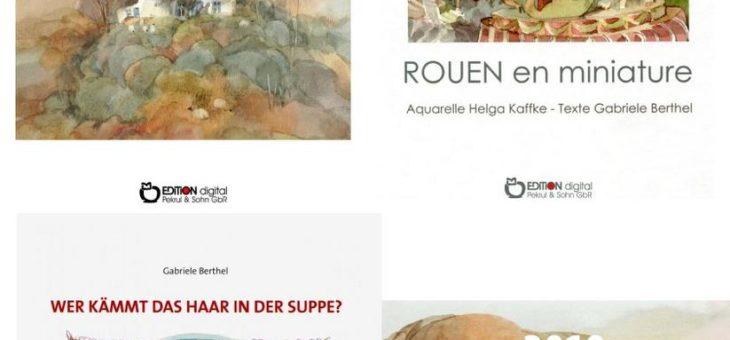 Wenn man die Originale sehen möchte – Schweriner gallery berger zeigt Aquarelle von Helga Kaffke