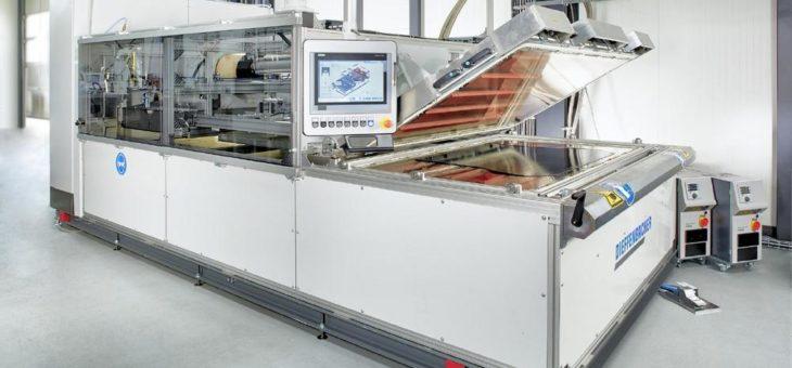 Neu entwickelte Industrieanlage «Fibercon» schließt thermo-plastische Prozesskette