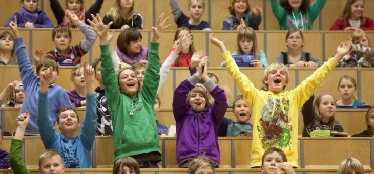 Kinderuni Ilmenau bereitet 3600 Kindern einen unvergesslichen Tag