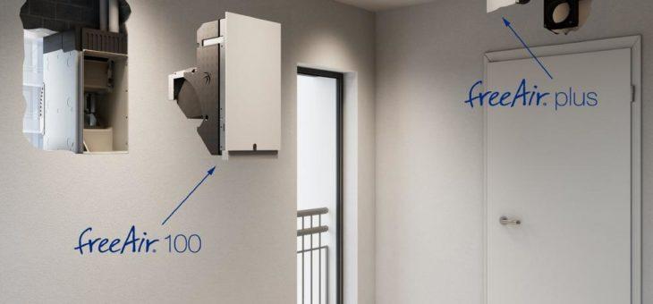 Lüftung geht einfach: freeAir-System mit Plug-and-Play dank durchdachter Rohbau-Komponenten