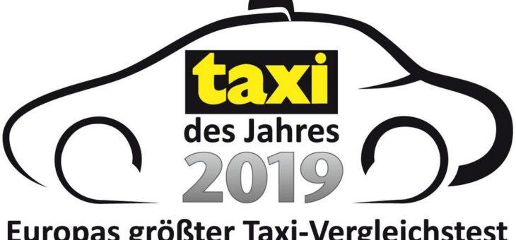 Taxi des Jahres 2019 geht in die fünfte Runde