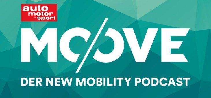 """""""Es muss sich anfühlen, als wäre es live"""":  AUTO MOTOR UND SPORT startet MOOVE, den New-Mobility-Podcast"""