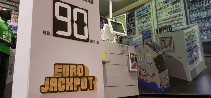 Mega-Jackpot von 90 Millionen Euro geht in die Verlängerung