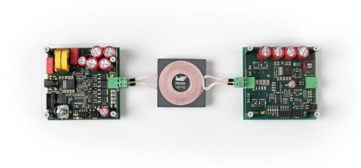 Energieübertragung und Datentransfer in einem