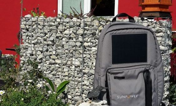 Gewinnspiel – Solarrucksack von SunPower