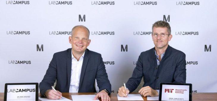 Entwicklung eines Smart City Konzepts am Flughafen München:  LabCampus GmbH und Massachusetts Institute of Technology vereinbaren Zusammenarbeit