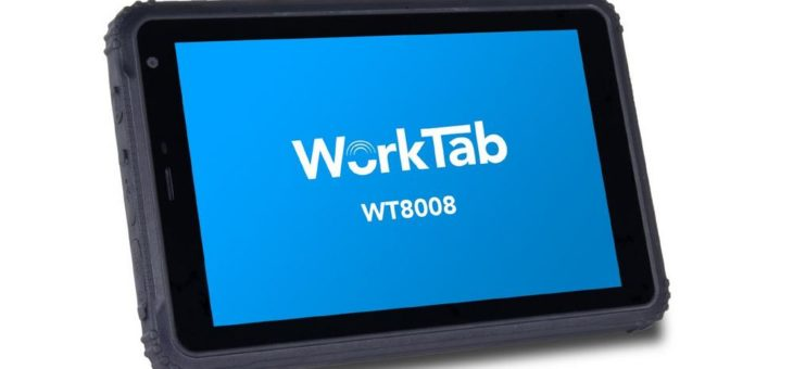 """4logistic präsentiert robustes 8"""" Tablet mit Android 8.1 oder Windows 10 Professional"""