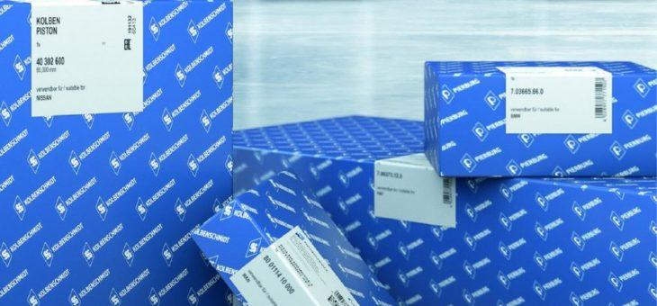 Motorservice mit überarbeitetem Verpackungsdesign
