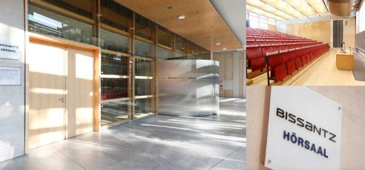 Bissantz übernimmt Hörsaal-Patenschaft an der FAU