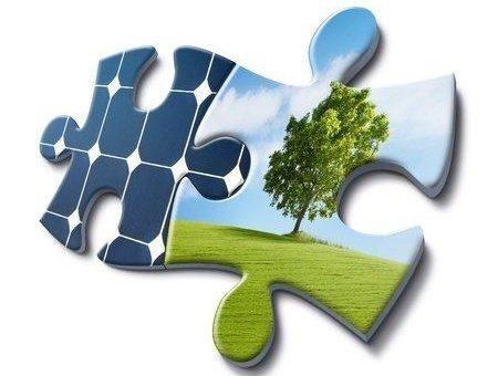 Photovoltaik-Solaranlage für Industrie und Gewerbe