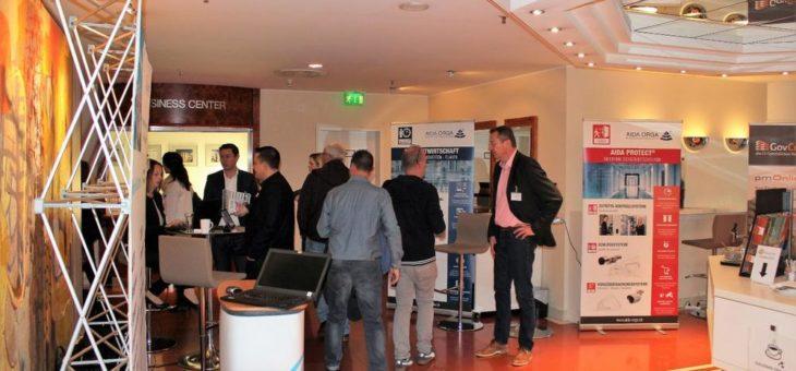 AIDA ORGA – Erfolgreiche Teilnahme an den Infotagen E-Government  in Hannover und Frankfurt 2018