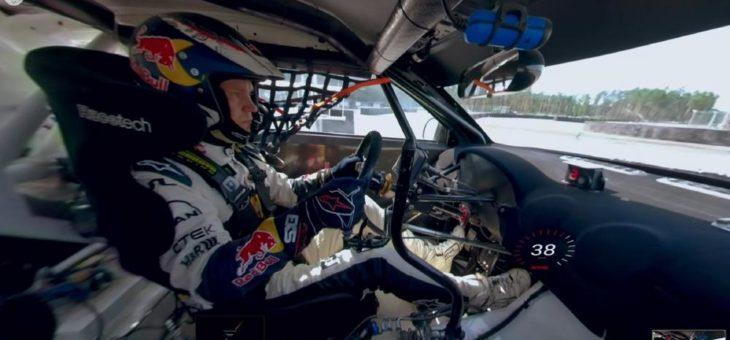 Einmal in einem Rallye-Fahrzeug mitfahren: ein neues VR-Video von KYB macht's möglich