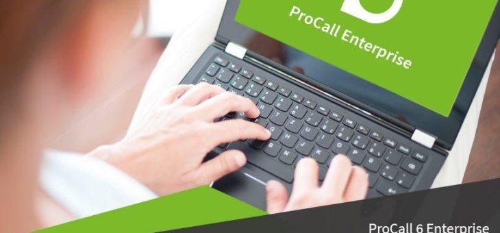 estos bietet Softphone-Benutzern von ProCall Enterprise mehr Komfort und weitere Funktionen