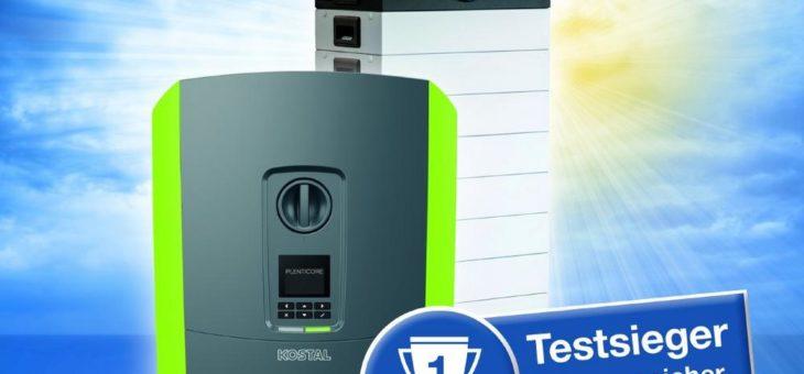 Testsieger: KOSTAL führt bei der Effizienz von PV-Speichersystemen