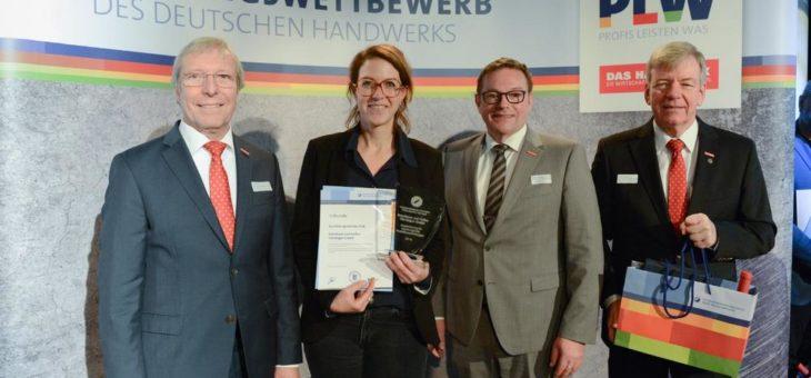 Konditorei und Kaffee Herrdegen GmbH aus Mannheim erhält Ausbildungs-Stele