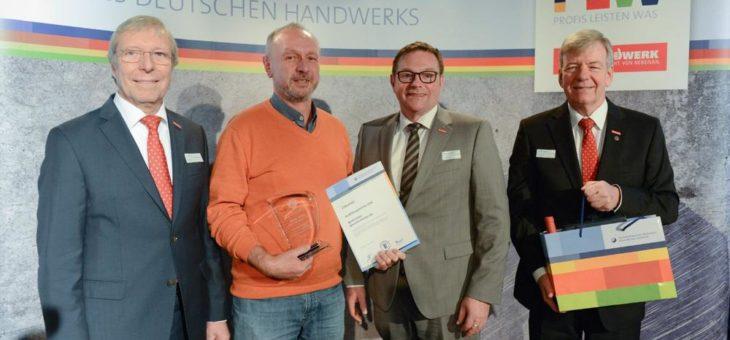 Walter Sailer Bauunternehmen AG aus Sandhausen erhält Ausbildungs-Stele
