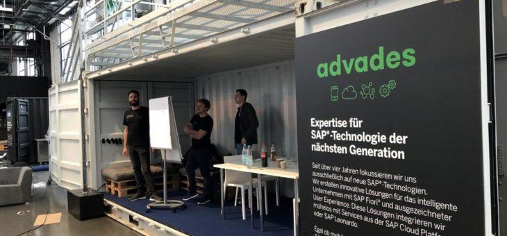 advades liefert Innovationsbombe beim Hackathon der SAP CONNECT 2018