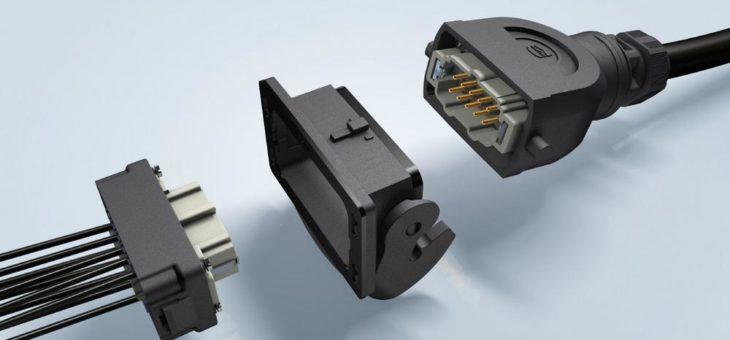 Han-Eco® B: Rückwärtige Steckverbinder-Montage erleichtert Schaltschrankbau