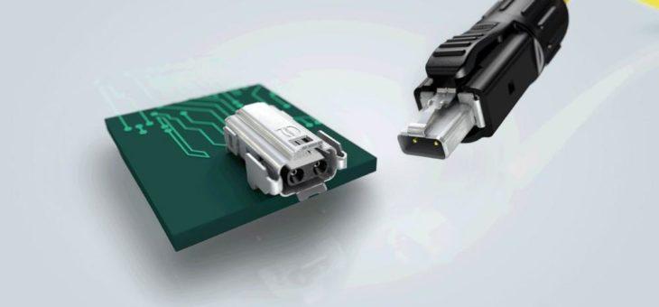 DAS Steckgesicht für die industrielle Single Pair Ethernet Kommunikation