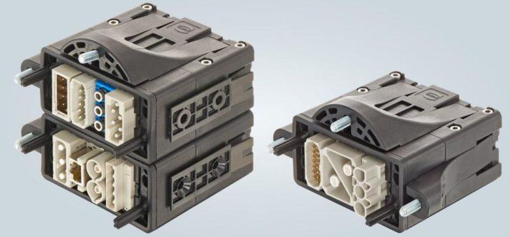 Han-Modular® Flexbox: Modularer Steckverbinder für Energieketten